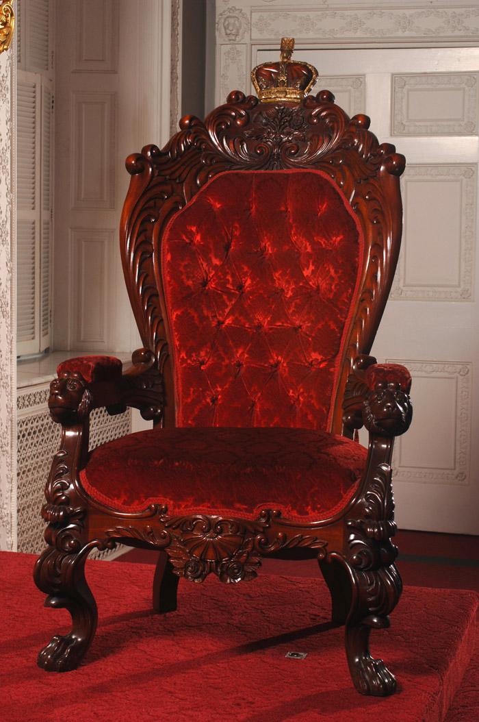 Portraits and Artifacts Photos About The Nova Scotia Legislature – Chair Throne