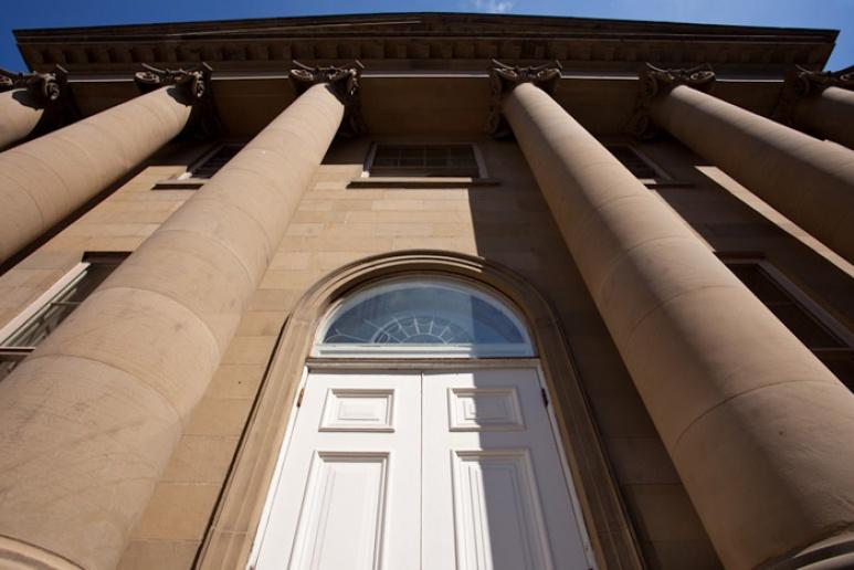 L'entrée de Province House sur la rue Granville