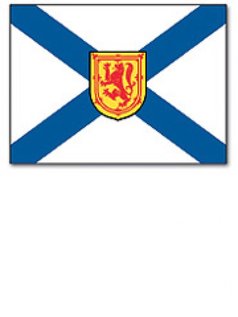 The Flag of Nova Scotia
